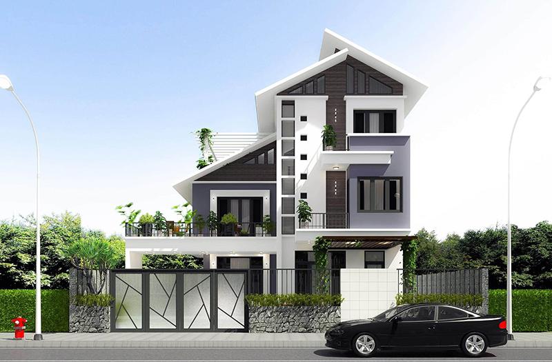 Thiết kế & Thi công Biệt thự khu đô thị sông Đơ, Sầm Sơn, Thanh Hóa