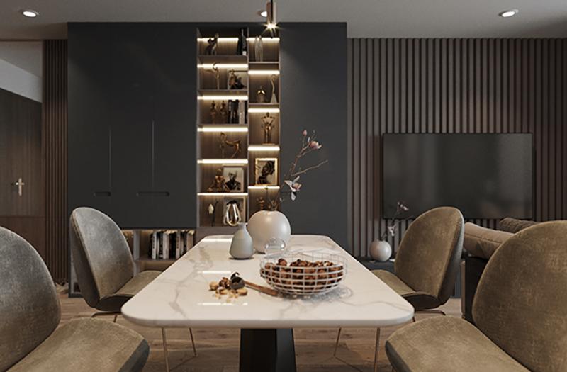 Thiết kế và thi công căn hộ chung cư Seasons Avenue, KĐT Mỗ lao, Hà Đông