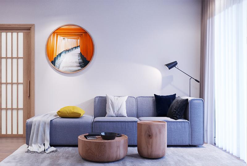 Thiết kế nội thất chung cư Sunshine Garden, Dương Văn Bé, Hà Nội