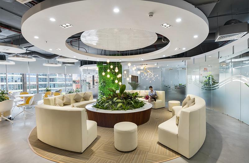 Thiết kế & Thi công Văn phòng Cenland, Golden Palm, Lê Văn Lương, Hà Nội