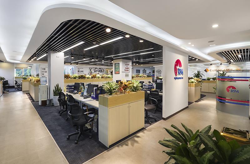 Thiết kế và Thi công Văn phòng Công ty RSM, CenGroup, Nguyễn Ngọc Vũ, HN
