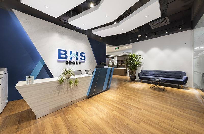 Thiết kế & Thi công văn phòng làm việc BHS Group, Thanh Xuân Complex, Hà Nội